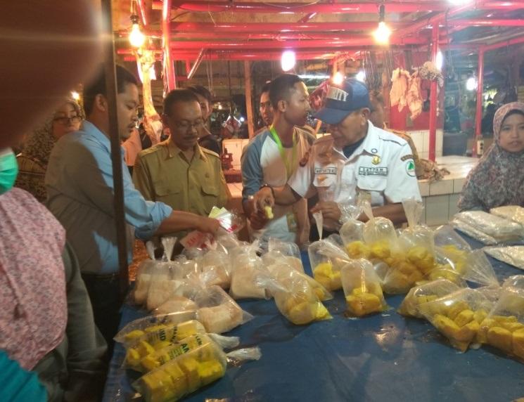 Uji Keamanan Pangan di Pasar