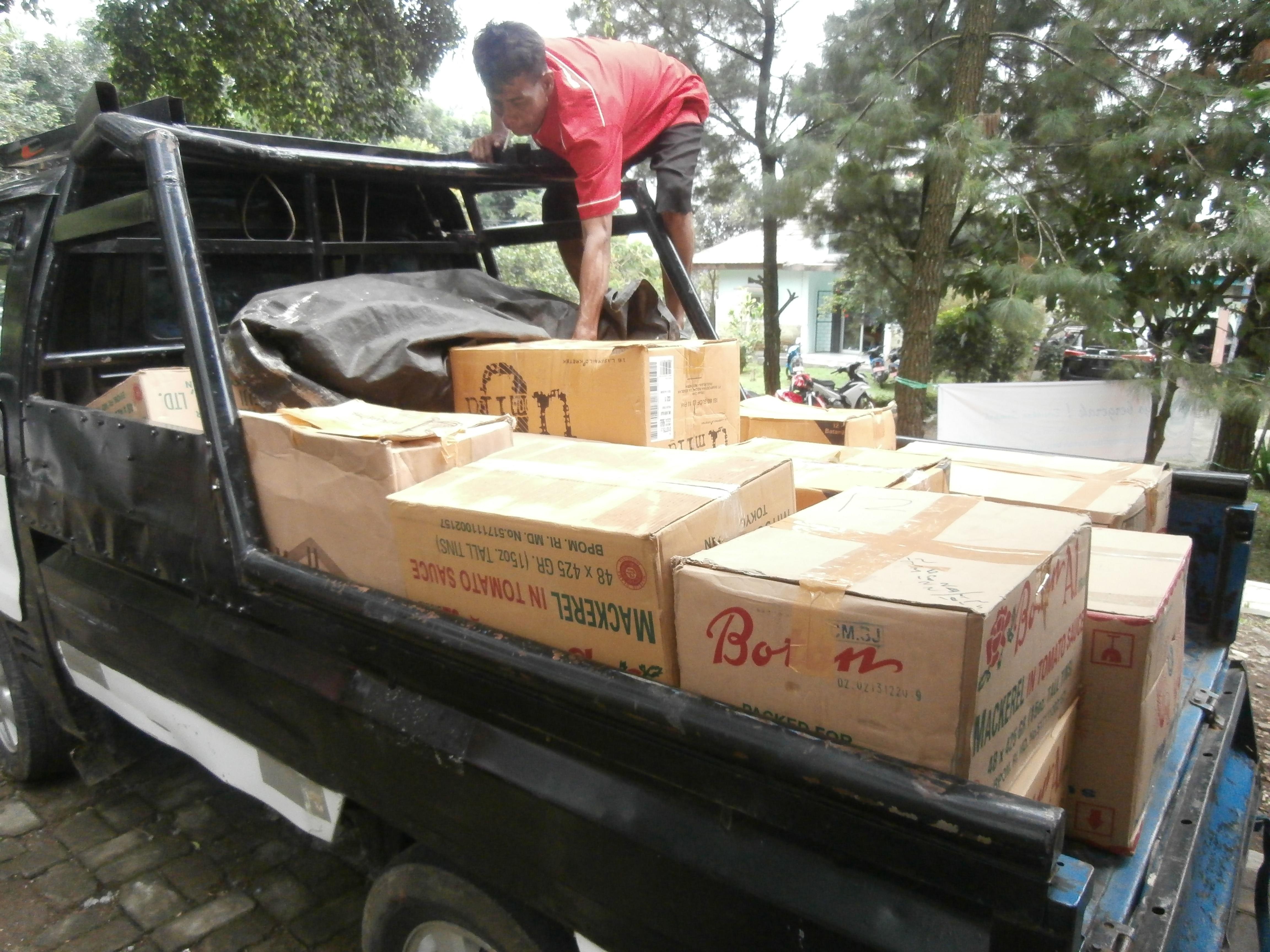 Paket Bantuan Kegiatan Penanganan Daerah Rawan Pangan di Kecamatan Tamansari