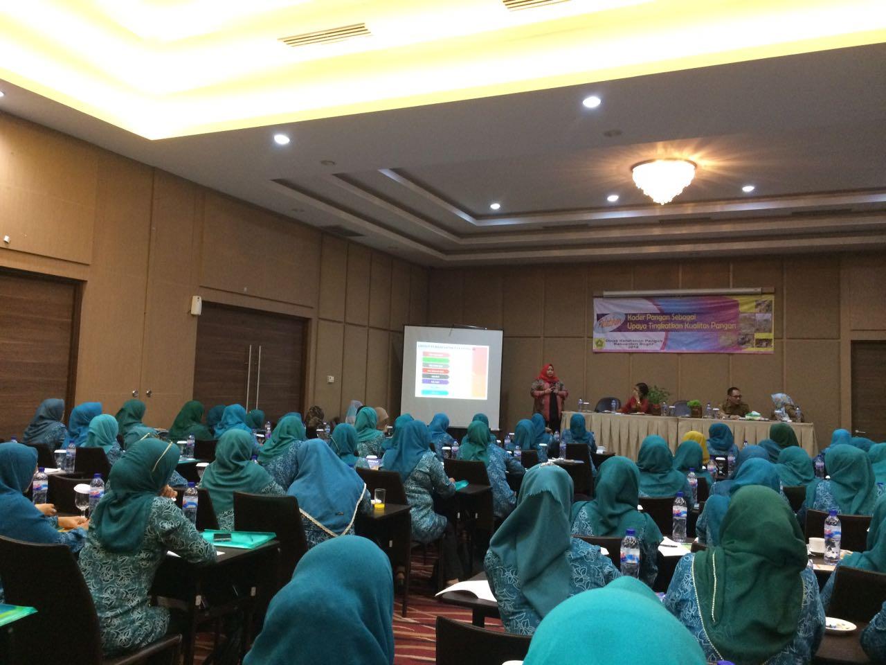 Para Peserta Yang Mengikuti Pelatihan Kader Pangan Kab. Bogor