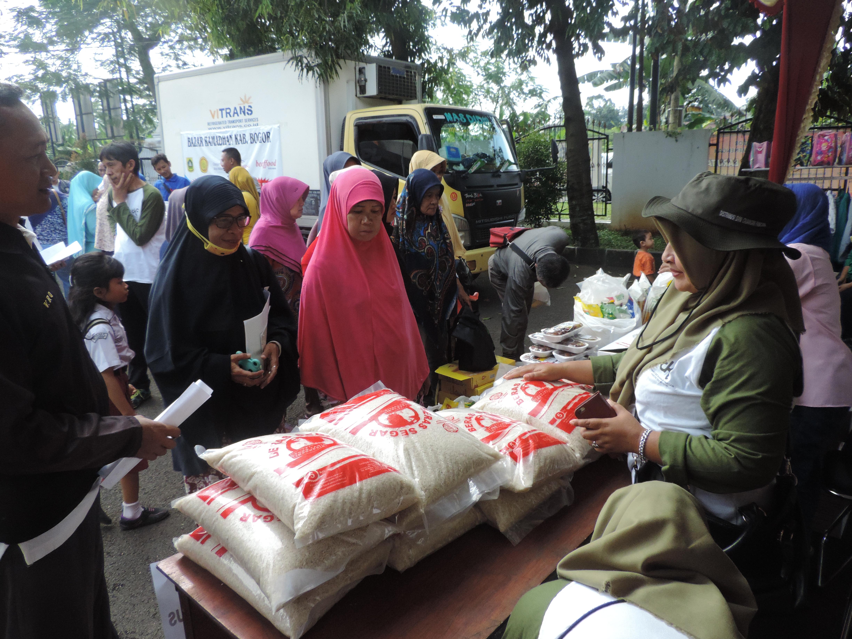 Bazaar murah Ramadhan di Kecamatan Sukaraja 23 Mei 2018