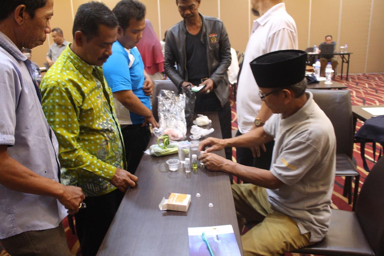 Bimtek Kader Keamanan Pangan Tk. Desa Kabupaten Bogor gelombang II pada bulan Juli 2018 sebanyak 4 angkatan