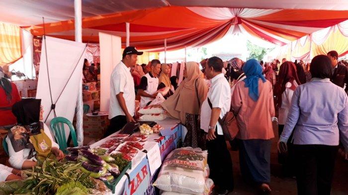 DKP Kab. Bogor berpartisipasi dalam Bazaar Ramadhan 1439 H dan Pasar Murah pada 06 s/d 07 Juni 2018